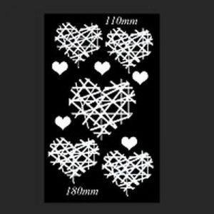 Memory Maze - Crisscross Heart Set