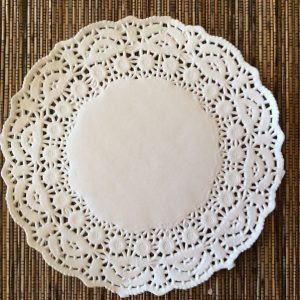 Doily - Paper - While 24cm
