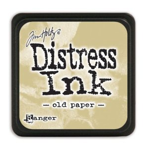 Tim Holtz Distress Ink - Mini Pad - Old Ppaer