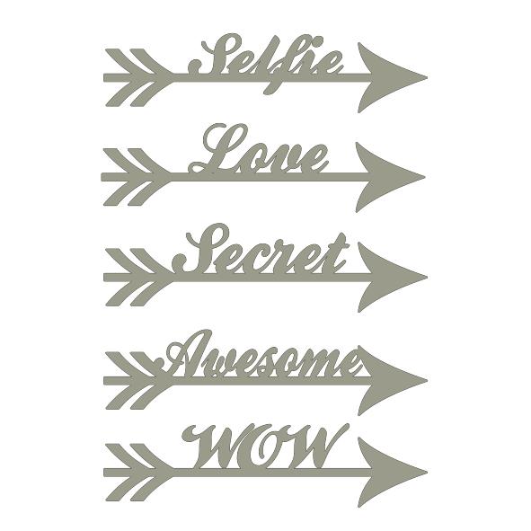 Memory Maze - Arrow Words - Selfie, love, Secret