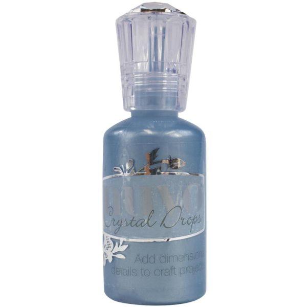 Nuvo Crystal  Drops - Pearl - Navy Blue