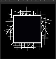 Memory Maze - Pick up Sticks Frame Sq.