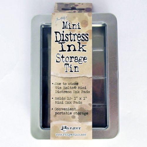 Distress Ink - Mini Pad Storage Tin