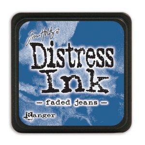 Tim Holtz Distress Ink - Mini Pad - Faded Jeans