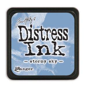 Tim Holtz Distress Ink - Mini Pad - Stormy Sky