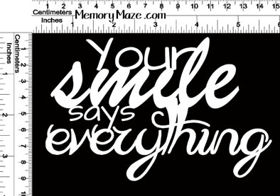 Memory Maze - Your Smile says Everything
