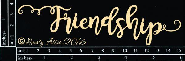 Dusty Attic - Friendship