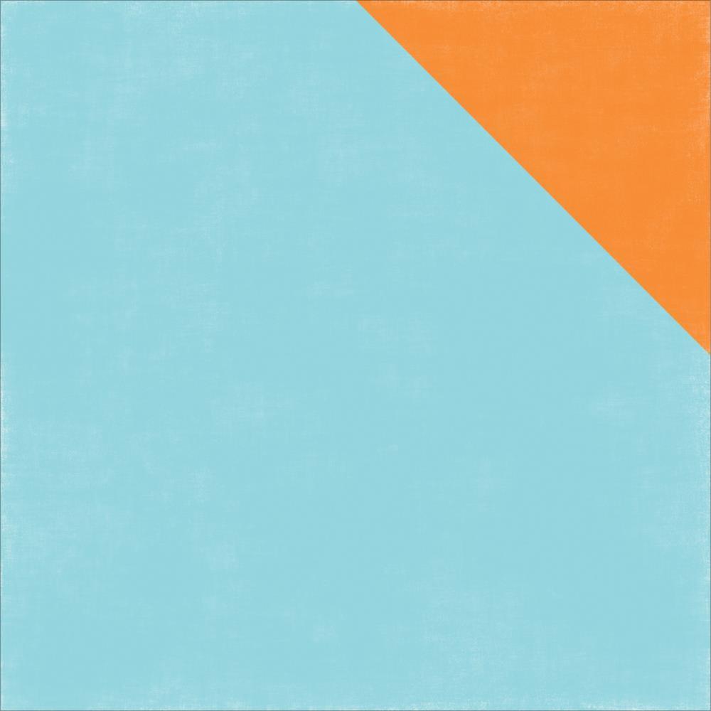 Echo Park - Under the Sea - Paper - Light Blue/ Orange