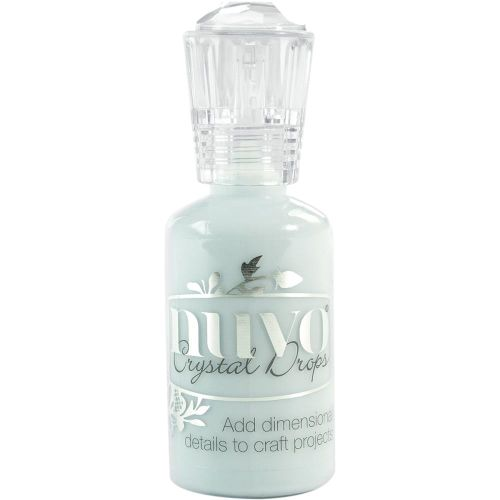 Nuvo Crystal Drops - Gloss - Duck Egg Blue