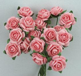Green Tara 1cm Rose - Pale Pink