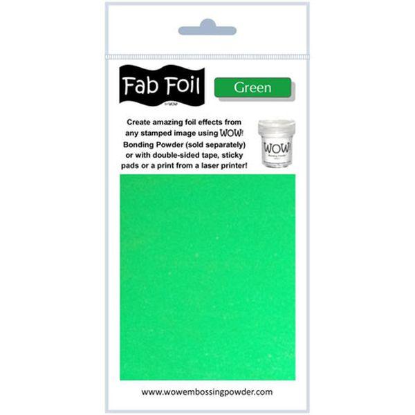 Fab Foil - Green