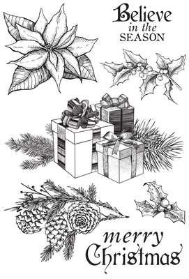Kaisercraft  Christmas Edition - Clear Stamps