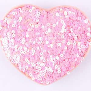 Flat Sequin 6mm - Pink