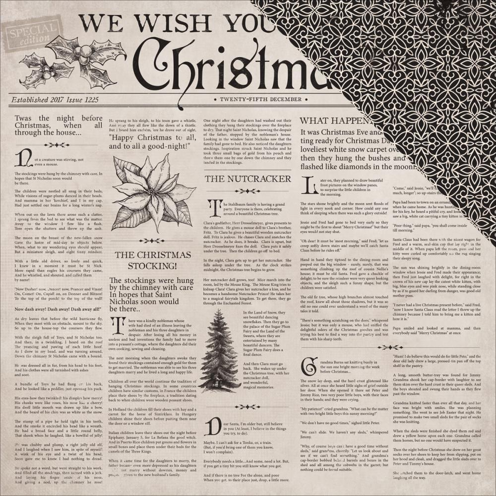 Kaisercraft  Christmas Edition - Paper - Christmas Tale
