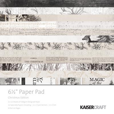 Kaisercraft  Christmas Edition - 6 1/2 inch Paper pad