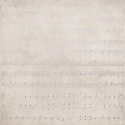 Kaisercraft  Christmas Edition - Paper - Foil - Carol Notes