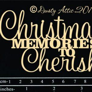 Dusty Attic - Christmas memories to Cherish