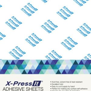 X-press  Double Sided Adhesive Sheets A4