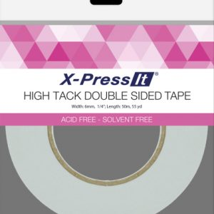 X-Press High Tack - Double Sided Tape 6mm