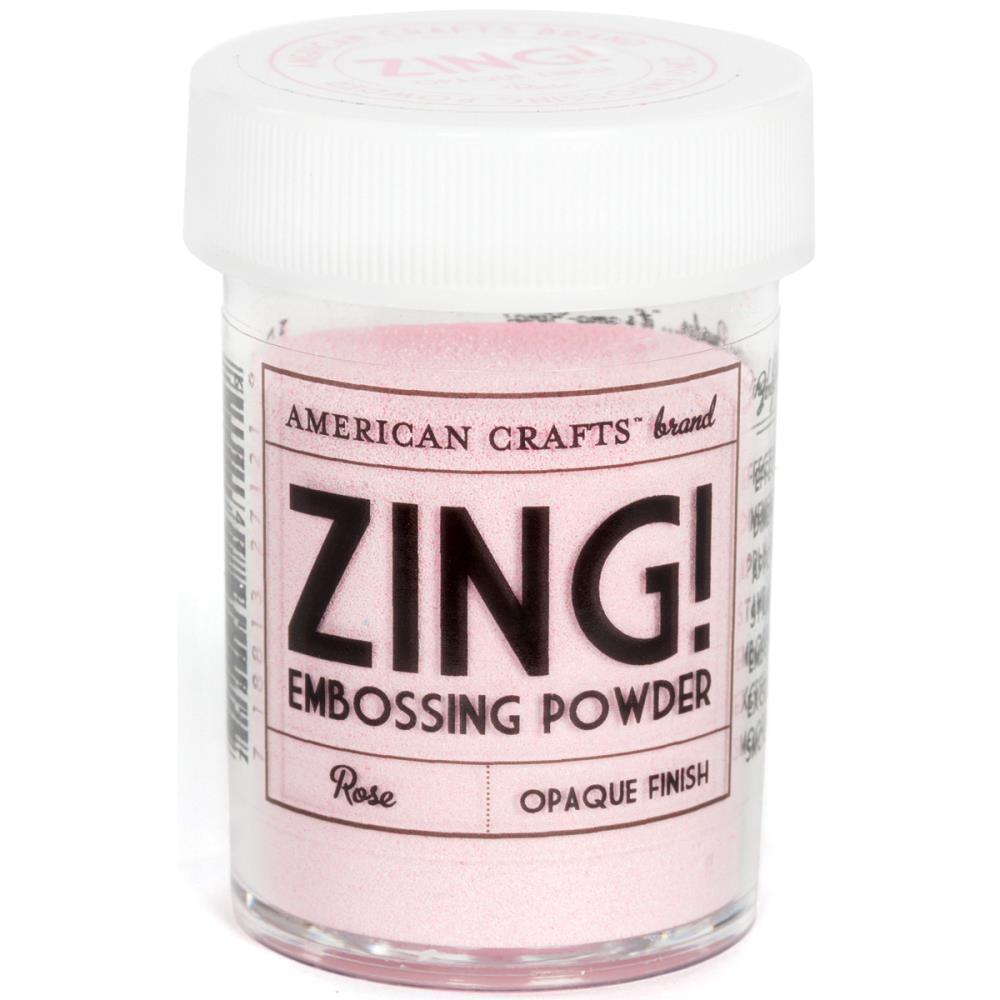 Zing Opaque Embossing Powder - Rose