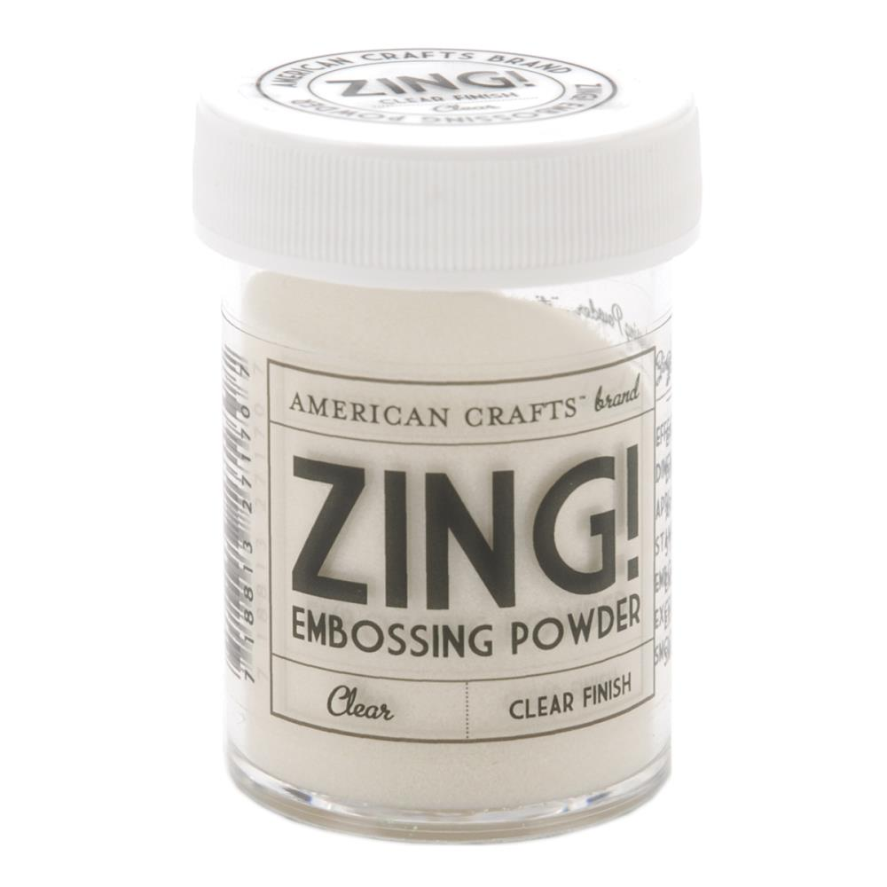 Zing Embossing Powder - Clear