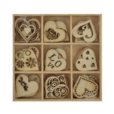 Kaisercraft - Wooden Flourish Pack - Love