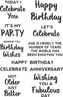 Kaisercraft - Clear Stamp - Birthday Sentiments