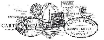 Kaisercraft - Clear Stamp - Postmarks