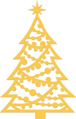 Kaisercraft Decorative Die - Christmas Tree