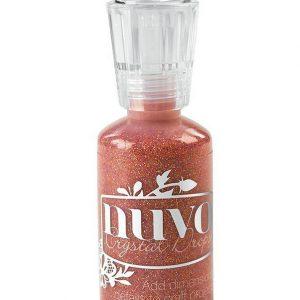 Nuvo Crystal  Drops - Glitter - Orange Soda