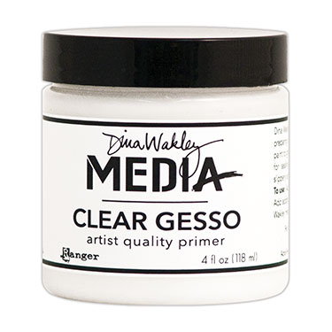 Dina Wakley Gesso - Clear