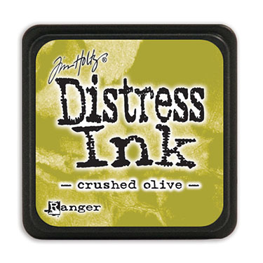 Tim Holtz Distress Ink - Mini Pad - Crushed Olive
