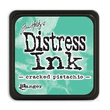 Tim Holtz Distress Ink - Mini Pad - Cracked Pistachio