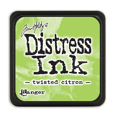 Tim Holtz Distress Ink - Mini Pad - Twisted Citron