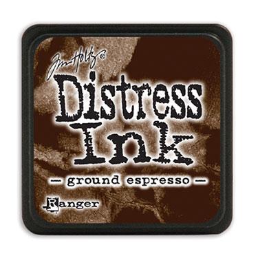 Tim Holtz Distress Ink - Mini Pad - Ground Espresso
