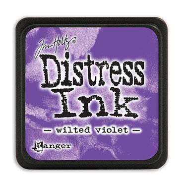Tim Holtz Distress Ink - Mini Pad - Wilted Violet