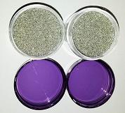 Mico Glass pills- Silver