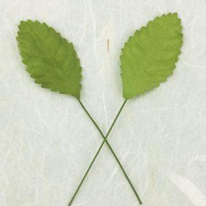 Green Tara Leaves - Light Green 3.5cm