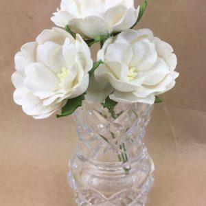 Green Tara - Wild Rose - White