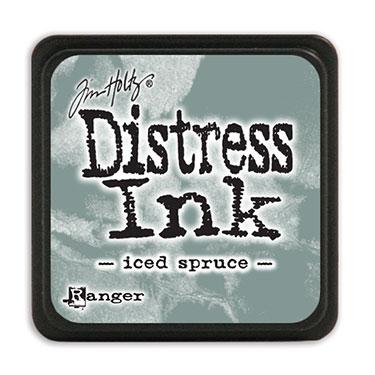 Tim Holtz Distress Ink - Mini Pad - Iced Spruce