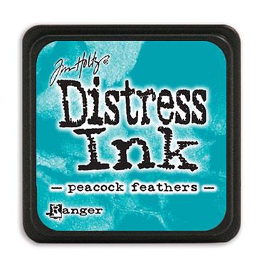 Tim Holtz Distress Ink - Mini Pad - Peacock Feathers