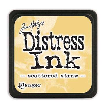 Tim Holtz Distress Ink - Mini Pad - Scattered Straw