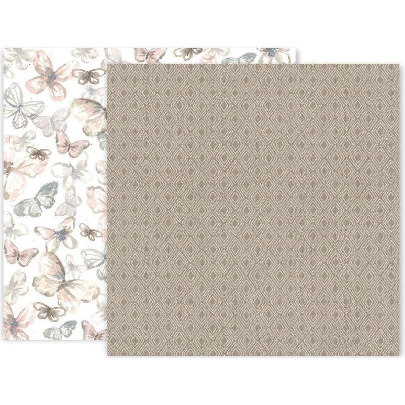Pink Paislee - Indigo & Ivy - Paper #3