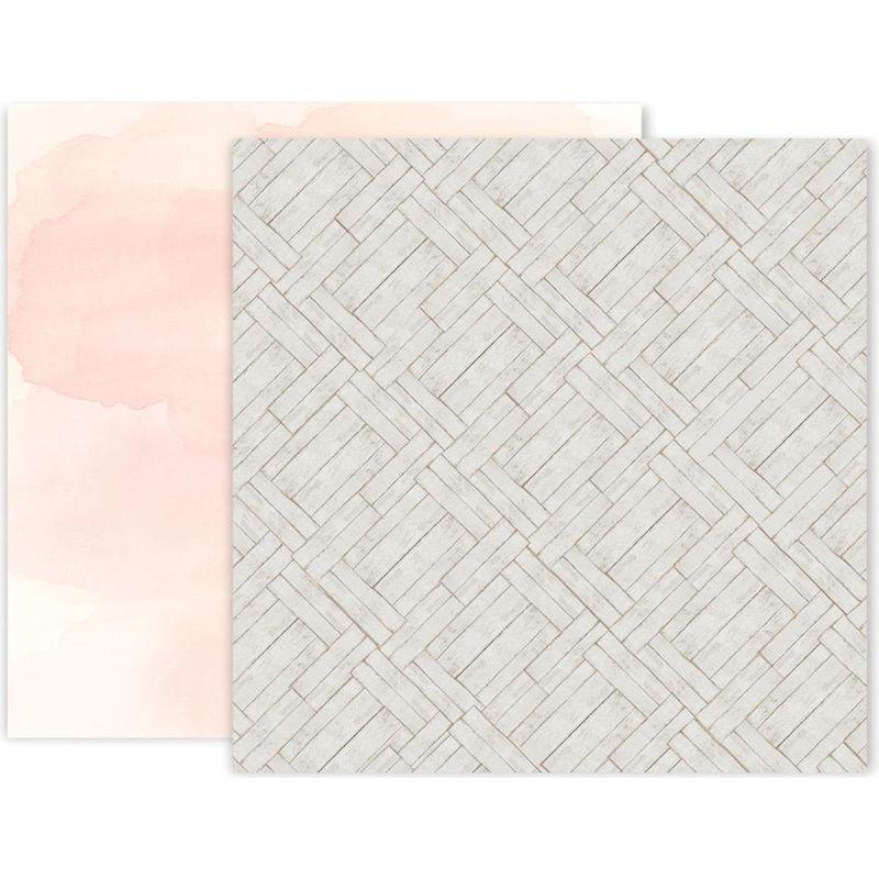 Pink Paislee - Indigo & Ivy - Paper #8