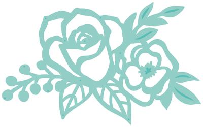 Kaisercraft Decorative Dies - Rose Cluster