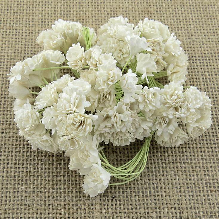 Mulberry Flowers - Gypsophila - White