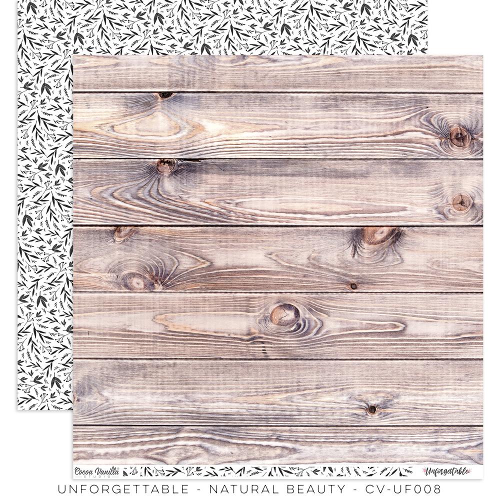 Cocoa Vanilla Unforgettable - Paper - Natural Beauty