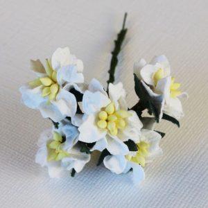 Mulberry Flowers - Gardenia - Small - White
