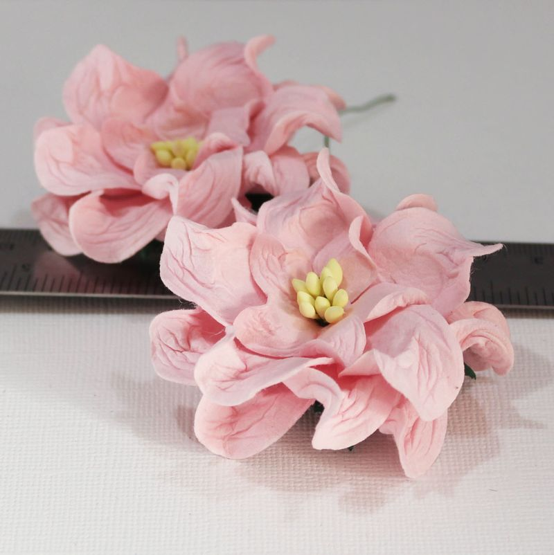 Mulberry Flowers - Gardenia - Large Pale Pink