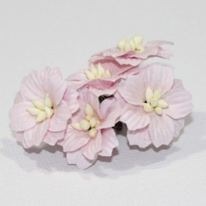 Mulberry Flowers - Apple Blossom - Soft Pink
